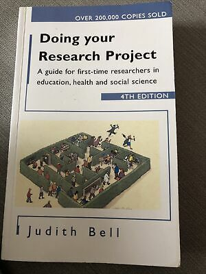 £3 • Buy Doing Your Research Project: A Guide For First-Time Researchers In Education..