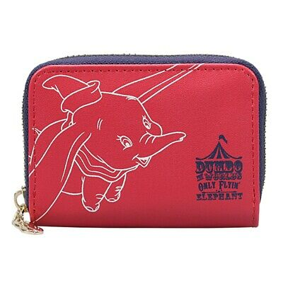£11.99 • Buy Genuine Disney Dumbo Admit One Small Zipped Coin Purse Wallet Flying Elephant