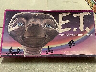 £22.99 • Buy E.T. Extra Terrestrial Board Game Parker Brothers