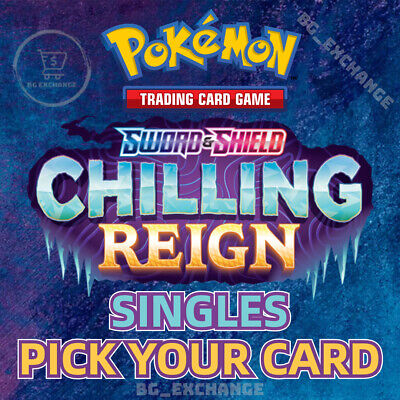 $0.99 • Buy Pokemon Chilling Reign Singles Pick Your Card Pack Fresh 2021 Complete Your Set