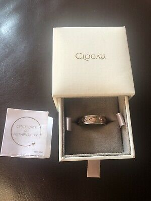 £120 • Buy Clogau Gold 9ct Gold Tree Of Life Band Ring Size Y Welsh Silver And Gold