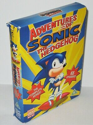 £39.95 • Buy Adventures Of Sonic The Hedgehog The Complete Series Pal Dvd Box Set - Good