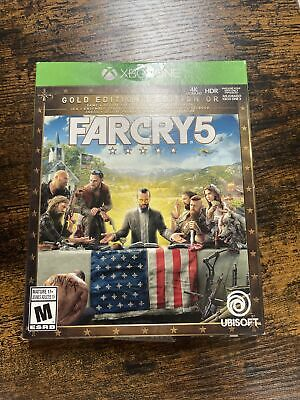 AU123.15 • Buy Far Cry 5 Steel Book - Xbox One Gold Edition *Brand New*