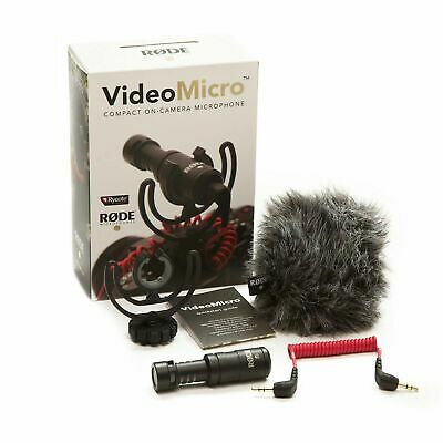 £53.90 • Buy Rode VideoMicro Compact On Camera Microphone - Assorted Colors
