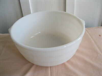 $12.50 • Buy Vintage GE White Milk Glass Large Mixer Bowl With Tabs