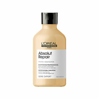 £12.99 • Buy L'Oreal Serie Expert Absolut Repair Gold Shampoo 300ml ***FREE POSTAGE***
