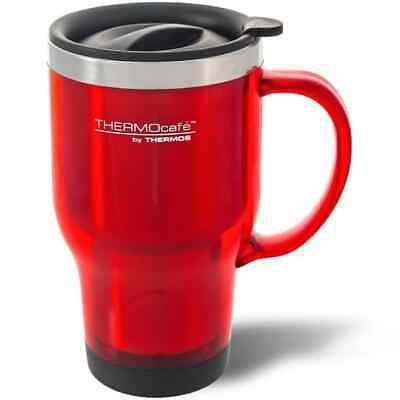 AU14.95 • Buy Thermos 470ml Stainless Steel Inner Platic Outer Travel Mug THM3CHR