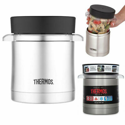 AU29.95 • Buy THERMOS 355ml Stainless Steel Vacuum Insulated Sleeve With Microwavable Food Jar