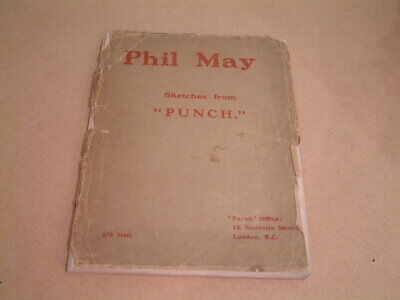 £40 • Buy Phil May - Sketches From Punch (1903)