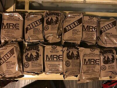 $17.50 • Buy MILITARY MRE - YOUR CHOICE IN MENU Case A And B NEW