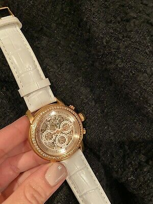 £400 • Buy Andre Belfort Watch Women's Golf And White Leather