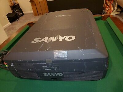 """£1044.84 • Buy SANYO PLC-XF47 PRO XtraX Projector 4.56-7.29"""" Xtra Bright Zoom Lens Excellent"""
