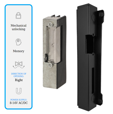 £31.99 • Buy Electric Strike 8-14V AC/DC Secure Door Mortice Lock With Profile Insert 40x40mm
