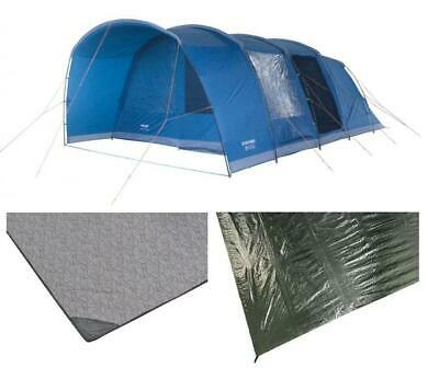 £699.99 • Buy Vango Aether 600XL 6 Berth Tunnel Tent, Carpet And Footprint Groundsheet Package