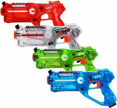 £49.99 • Buy DYNASTY TOYS Laser Tag Shooting Game For Kids & Adults Multi Player Gun Set NEW