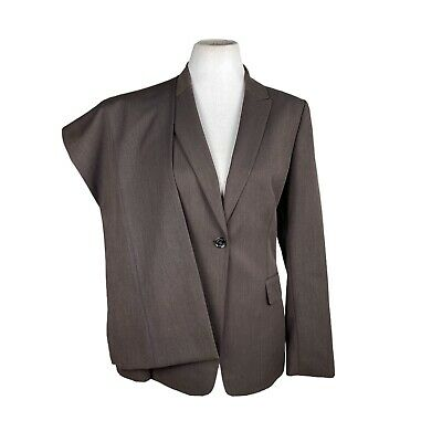 £28.22 • Buy CALVIN KLEIN Women 2PC Brown Polyester Blend Business Pant Suit Size 10