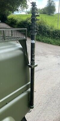 £239 • Buy Military Land Rover Wolf RACAL ANTENNA MAST 12MTR ASSY  PUSH UP MAST ( PU12 )
