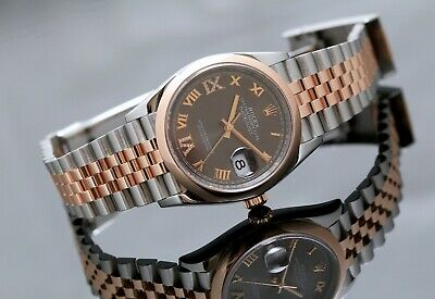 $ CDN19917.64 • Buy Rolex Datejust 36mm Stainless Steel & Rose Gold Jubilee - Box & Papers 2019