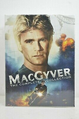$130 • Buy (Cracked Case) MacGyver Complete Collection Series Season 1-7 DVD + TV Movies