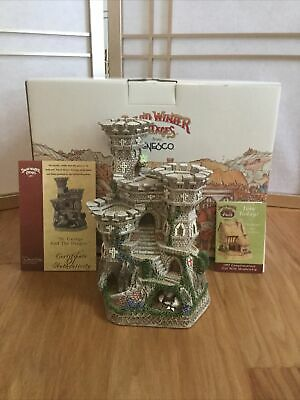 £131.61 • Buy David Winter Cottages St. George & The Dragon 1997 England Castle Brand New!