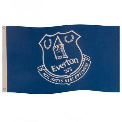 £8.29 • Buy Everton FC Core Crest Flag Banner 5 X 3 Ft Size Gift Idea For Birthday Christmas