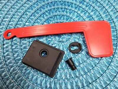 $15.88 • Buy Replacement Red Flag And Assembly Mailbox Parts Plastic Postal Mail Box Repair