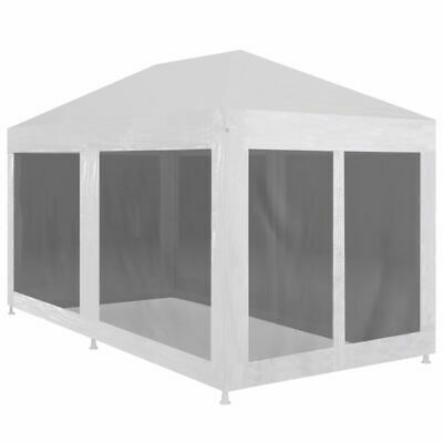 AU150.95 • Buy Outdoor Party Tent With Mesh Walls 6x3m Garden Marquee Gazebo Shelter Sunshade