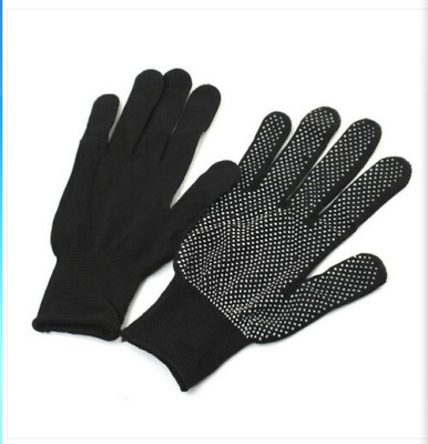 £5.29 • Buy Heat Resistant Gloves Curling Protective Heat Proof For Hair Universal Fit Size