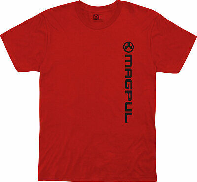 $22.99 • Buy Magpul 122051 Vertical Logo Fine Cotton X-Large Red T-Shirt