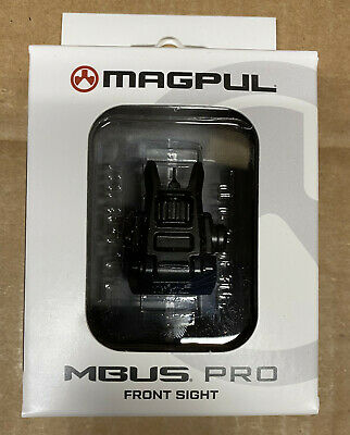 $59.95 • Buy Magpul MBUS Pro Backup Flip Up Front Sight Steel Low Pro MAG275