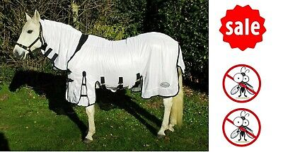 £32.65 • Buy SOFT MESH FLY RUG Rhinegold Savanna Horse Fly Rug Fixed Neck Combo Belly Flap