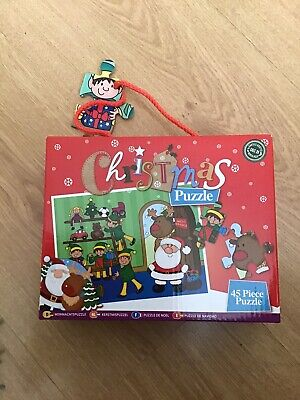 £3.99 • Buy Christmas Jigsaw Puzzle Santa's Grotto 45 Pieces - 3+ - Complete