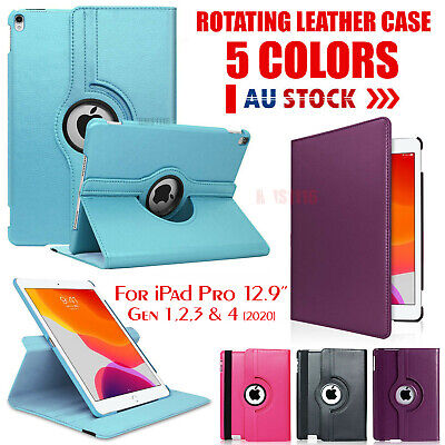 AU14.95 • Buy For Apple IPad Pro 12.9 Inch Case 2020 4th 3rd 2 1 Gen Leather Cover Smart Folio