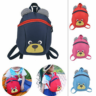 £7.99 • Buy Kids Toddler Walking Safety Harness Backpack Security Strap Bag With Reins New