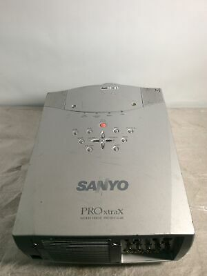 £290.43 • Buy Used Sanyo PLC- XP57L Pro XtraX Multiverse Projector Hrs:1,274 - NO REMOTE