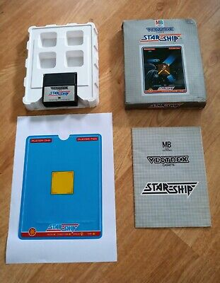 £26 • Buy Star Ship - Vintage Retro Mb Vectrex Game - Boxed & Complete + Box Protector