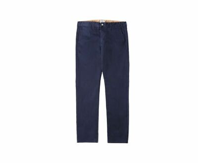 £50 • Buy BNWT Mens Edwin Natural Classic Skinny Chinos Trousers Cotton Navy W30 L33