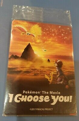 $39.99 • Buy Pokemon The Movie I Choose You 3 Card GameStop Promo Pack Factory SEALED