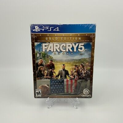AU166.94 • Buy Far Cry 5 GOLD Edition [ Game + Season Pass + STEELBOOK Package ] (PS4) NEW