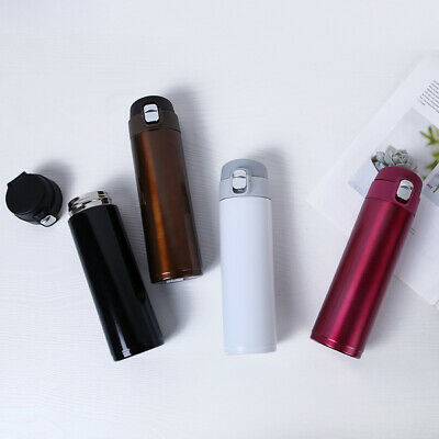 £11.99 • Buy 500ML Stainless Vacuum Flask Water Bottle Insulated Thermos Cup Mini D