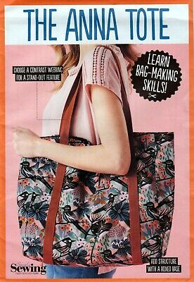 £4 • Buy Simply Sewing Sewing Pattern  Tote Bag  *the Anna Tote * New