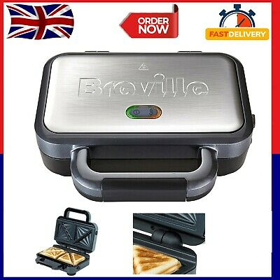 £34.99 • Buy Breville Deep Fill Sandwich Toaster And Toastie Maker With Removable Plates, Non