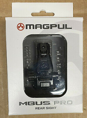 $79.95 • Buy Magpul MBUS Pro Rear Sight, Melonited All-Steel, New In Box