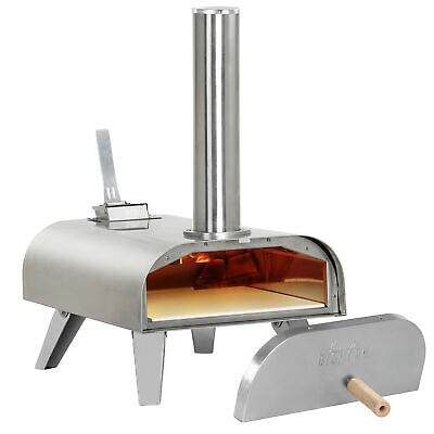 £115 • Buy Big Horn Outdoors Pellet Grill Wood BBQ Smoker Portable Pizza Oven