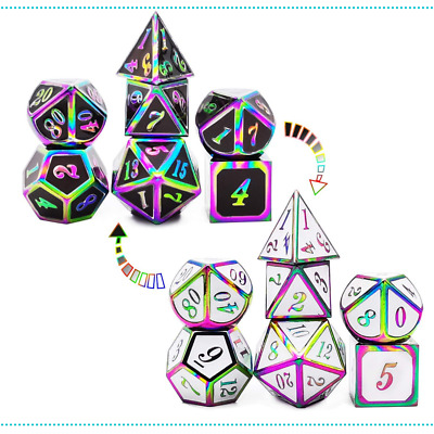 AU51.93 • Buy Dice Set Role Playing Dice Color Changing Temperature Dungeons And Dragons