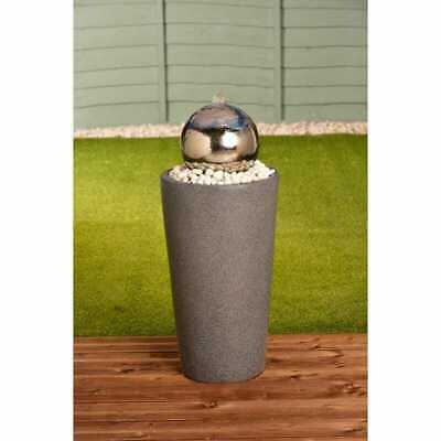 £150 • Buy Gazing Ball Tower Water Feature
