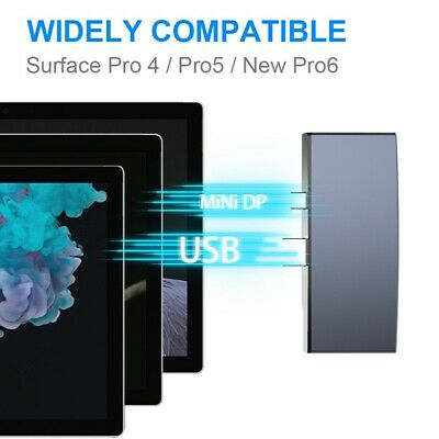 AU37.05 • Buy Docking Station For Surface Pro USB3.0 Multi-function Hub With/ No Network Port