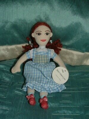 £14.99 • Buy The Wizard Of Oz  10  Dorothy  Beanie Plush Soft Toy Tagged By Best Years Ltd