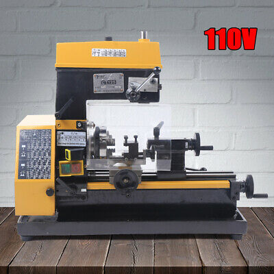 $1303 • Buy Micro Lathe 3-in-1 Multi-function Machine Drilling And Milling Lathe Machine