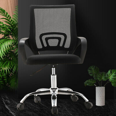 AU43.99 • Buy Office Chair Gaming Chair Computer Mesh Chairs Executive Seating Study Seat AU